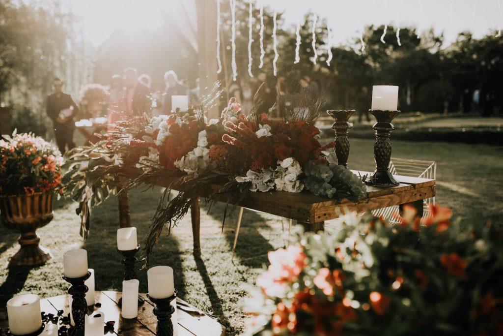 Prepara tu boda en el patio trasero